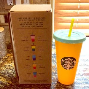 Starbucks Color Changing Cold Cup
